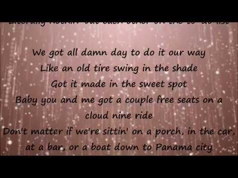 Sittin' Pretty - Florida Georgia Line Lyrics