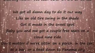 Sittin' Pretty - Florida Georgia Line Lyrics Mp3