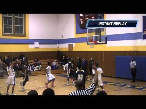 New Mission vs. East Boston (Boys Basketball Highlights)