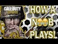 NOOB PLAYS COD WWII FOR FIRST TIME! | FUNNY MOMENTS