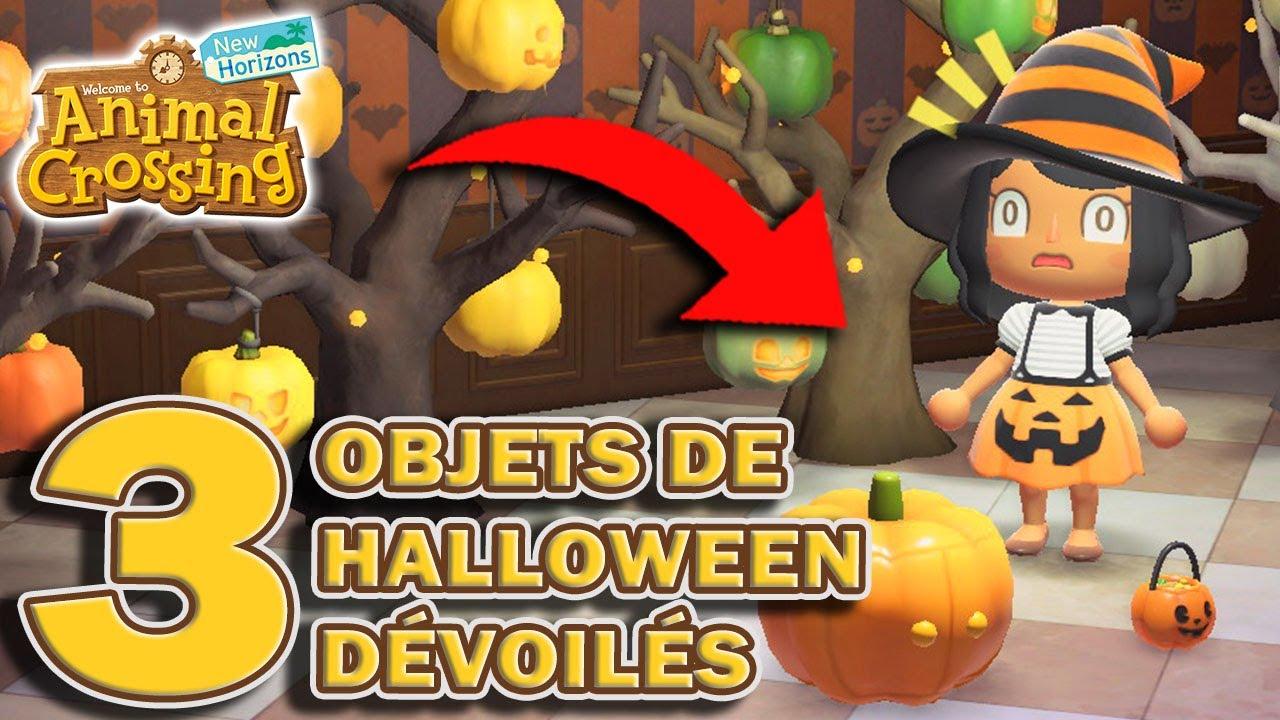 3 NOUVEAUX OBJETS DE HALLOWEEN DÉVOILÉS! 🎃 ( MAJ 1.11.0 ) | Animal Crossing New Horizons