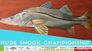 Release Ruler Prize SNOOK Painting   Time-Lapse Snook