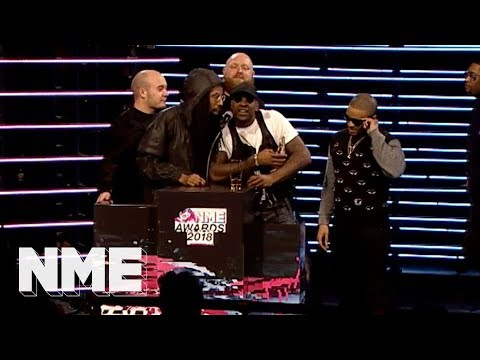Boy Better Know win the NME Innovation Award | VO5 NME Awards 2018