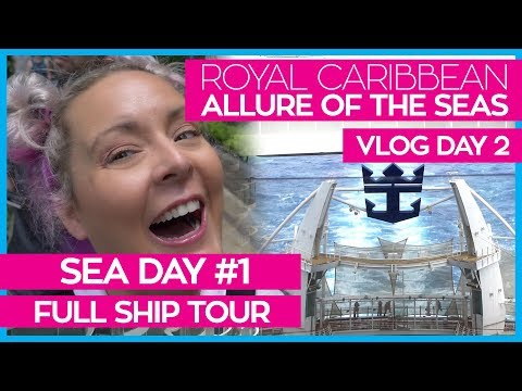 Allure of the Seas 2018 | Cruise Vlog Day 02