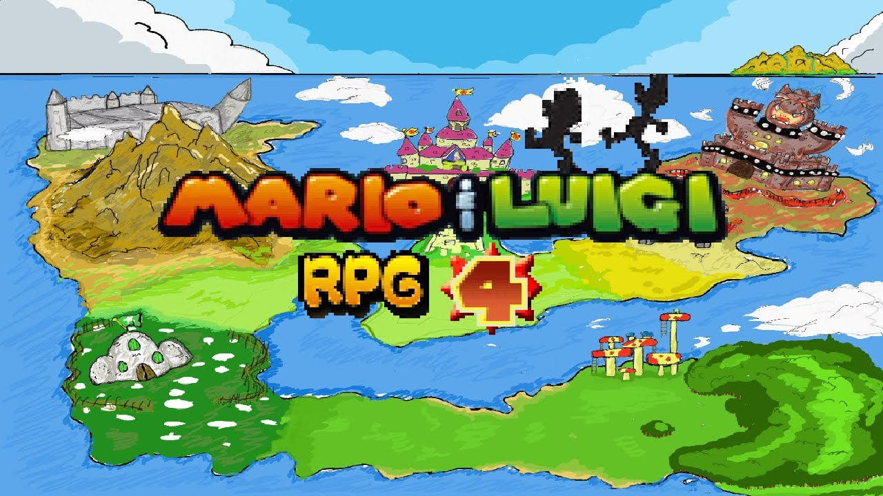 Mario And Luigi Rpg 4 Fangame Youtube