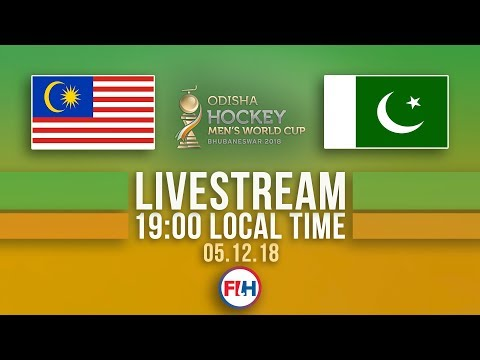 Malaysia v Pakistan | 2018 Men's Hockey World Cup | FULL MATCH LIVESTREAM