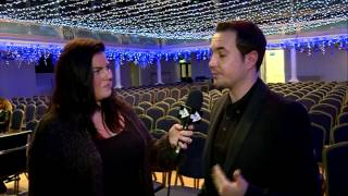 Interviewing Martin Compston Interview on STV