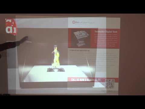Interactive wall projection | Alfahologram Egypt