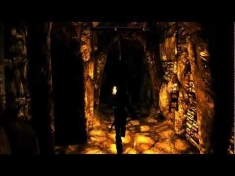 Skyrim: Ustengrav - Realistic Lighting Overhaul [ENB demo ...