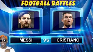 Cristiano Ronaldo vs. Messi | Football Battles