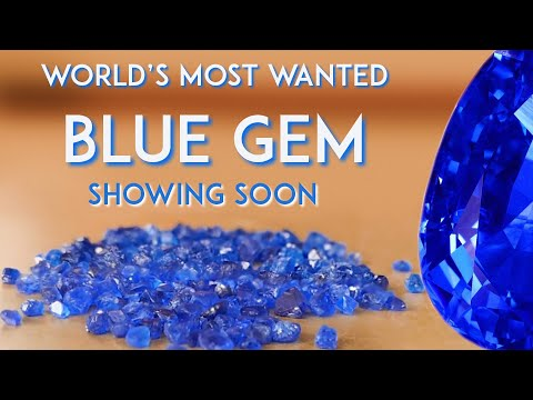 THE MOST UNIQUE BLUE STONE ON THE PLANET