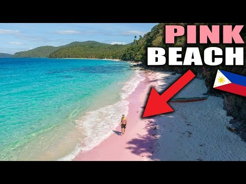 Exploring the UNEXPLORED of Philippines - PINK Beach !!