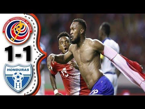 Costa Rica vs Honduras 1-1 │Costa Rica clasifica a Rusia 2018│Resumen Completo HD.