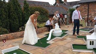 crazy9 mobile adventure golf - wedding entertainment