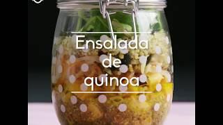 Receta ensalada de quinoa – Vídeo receta