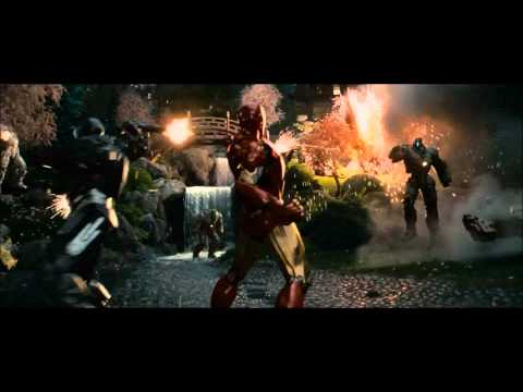 Iron Man and War Machine - Drone Scene [HD]