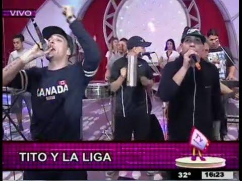 LA LIGA - En vivo en Canal 12 TV Música (Posadas / Misiones) CristianCumbiaLiga