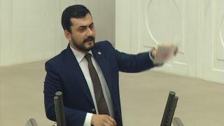 CHP'li Eren Erdem Meclis'te konuşunca ortalık karıştı!