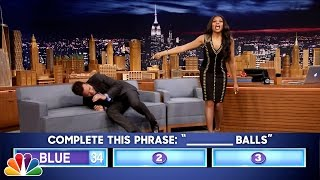 Fast Family Feud with Taraji P Henson
