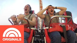 Let's Go On Thrill Rides At Luna Park In Coney Island | Out And About | TODAY
