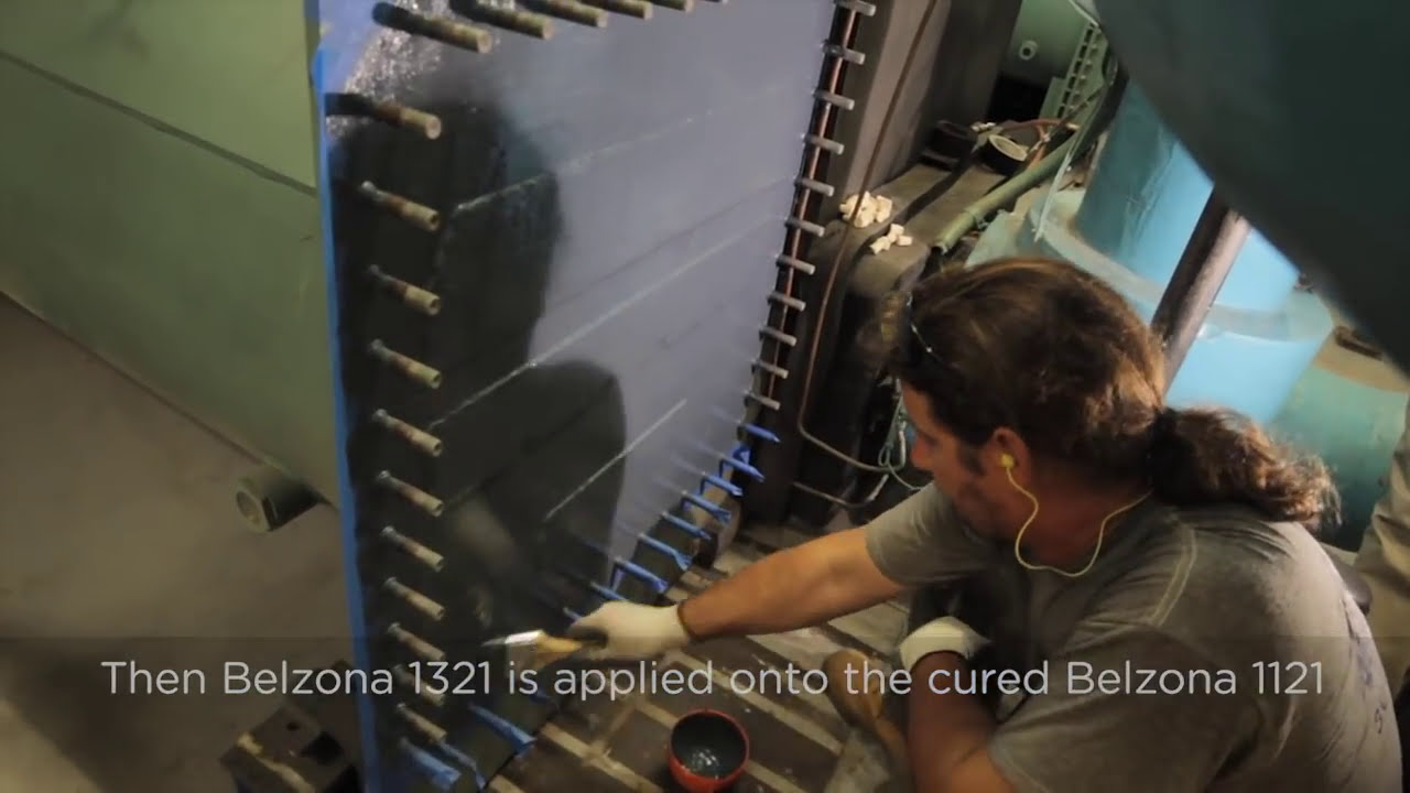 How To Repair And Protect An Hvac Chiller With Belzona  Belzona 02:39 HD