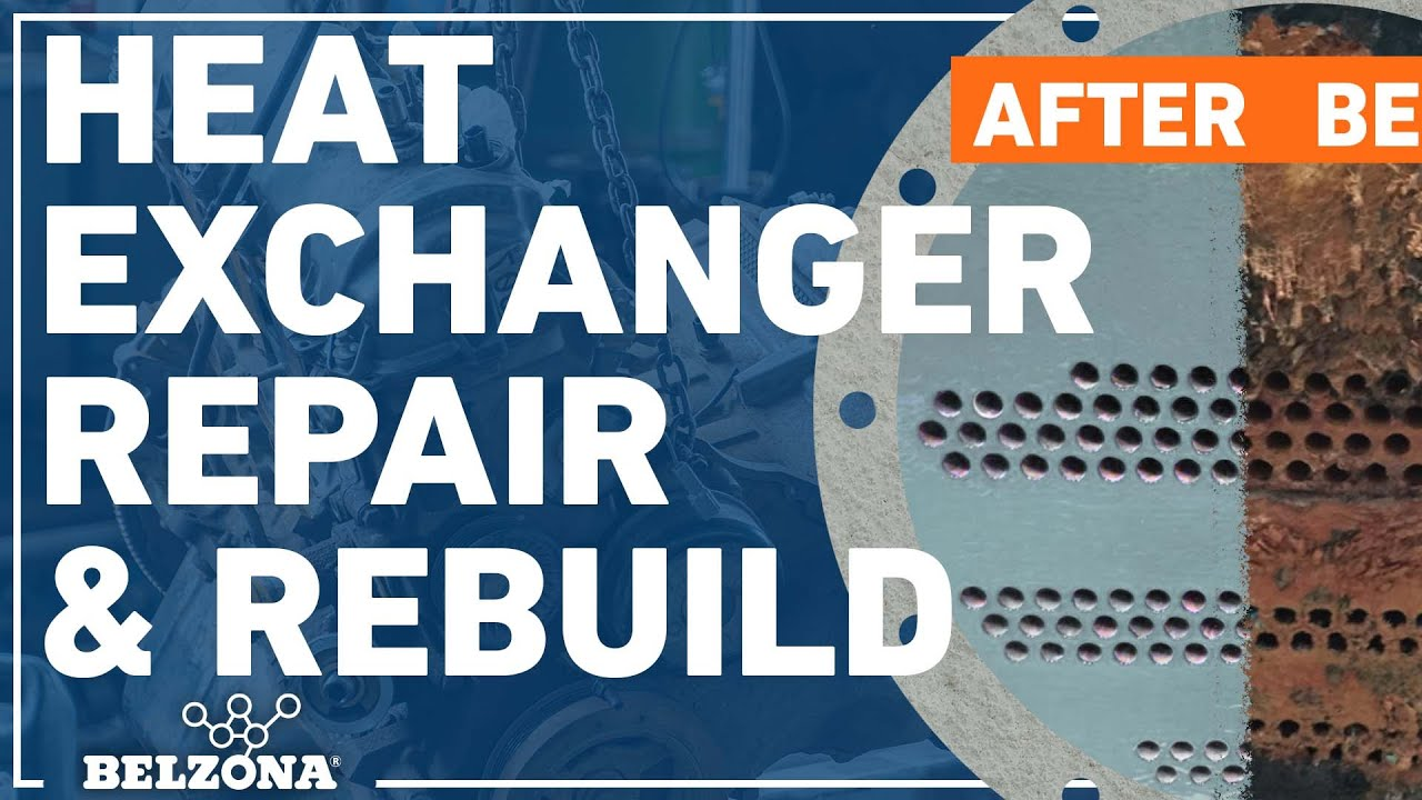 How to Repair and Protect an HVAC Chiller with Belzona
