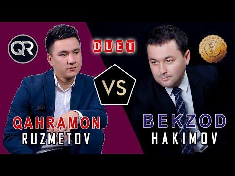 Bekzod Hakimov * Qahramon Ruzmetov * DUET * KONSERT