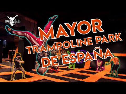 Urban Planet Oleiros: el Mayor Trampoline Park de España