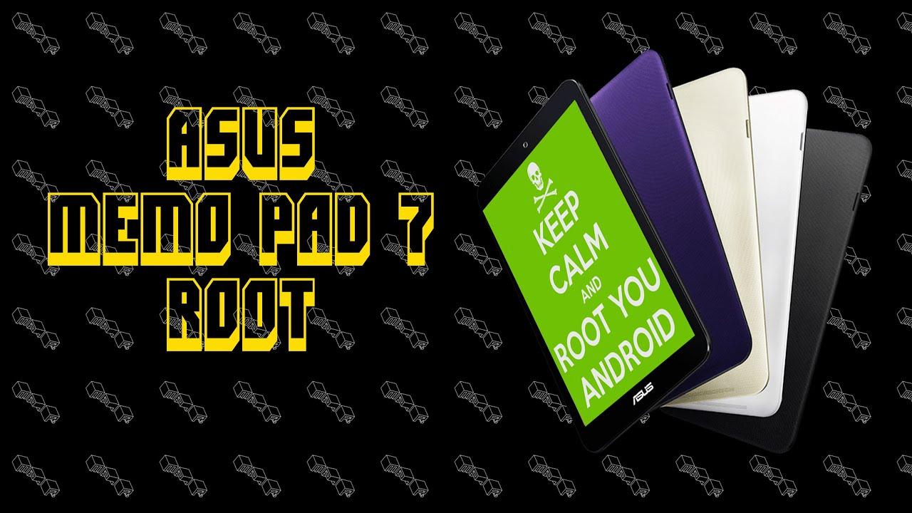 Asus MeMo Pad 7 Easy Root