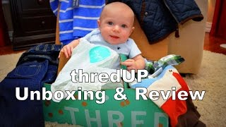 Baby thredUp Unboxing & Review   Huge Baby Haul of Name Brand Clothing