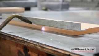 how to flame polish acrylic plexiglass