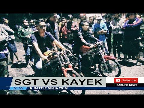 KAYEK SPEED VS SGT SPEED 2018 | NINJA 201M