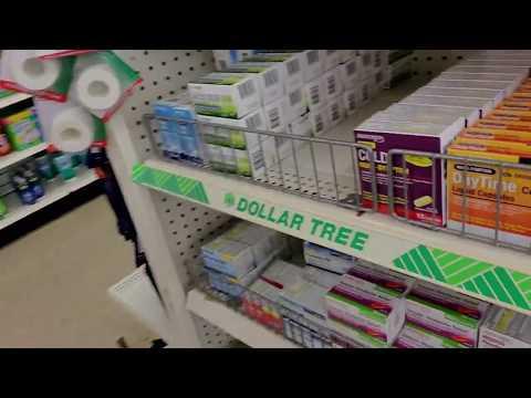 Dollar Tree OTC Shelf Organization 8-13-2019