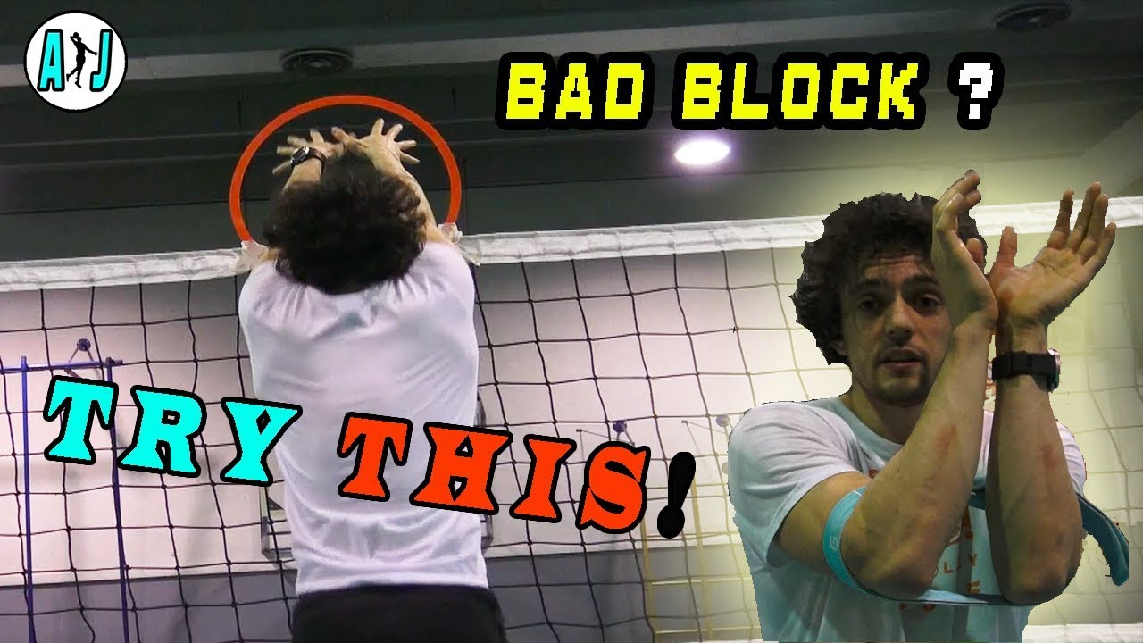 Volleyball Tips Block How To Block Youtube