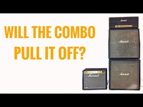 Do I need a Full Stack to get the Marshall sound or will a COMBO do the trick?