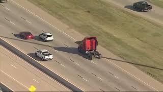 Police chase on I-30