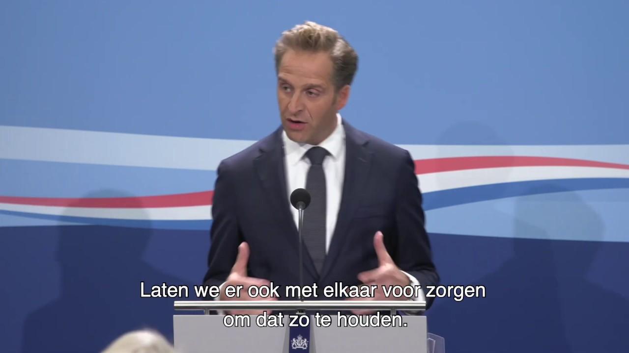Statement Persconferentie Van Vicepremier Hugo De Jonge