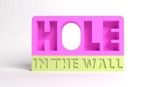 Roblox Delikten Geç --- Hole İn The Wall