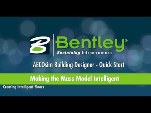 AECOsim Building Designer   A02   Making the Mass Model Intelligent