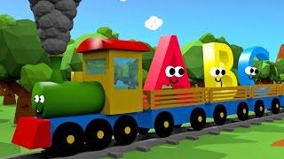 Alfabet dla dzieci - Pociąg 3D | CzyWieszJak