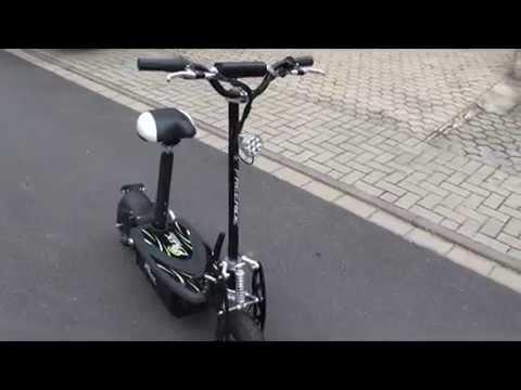 e scooter eflux freeride 1000 watt 48 v mit licht und. Black Bedroom Furniture Sets. Home Design Ideas