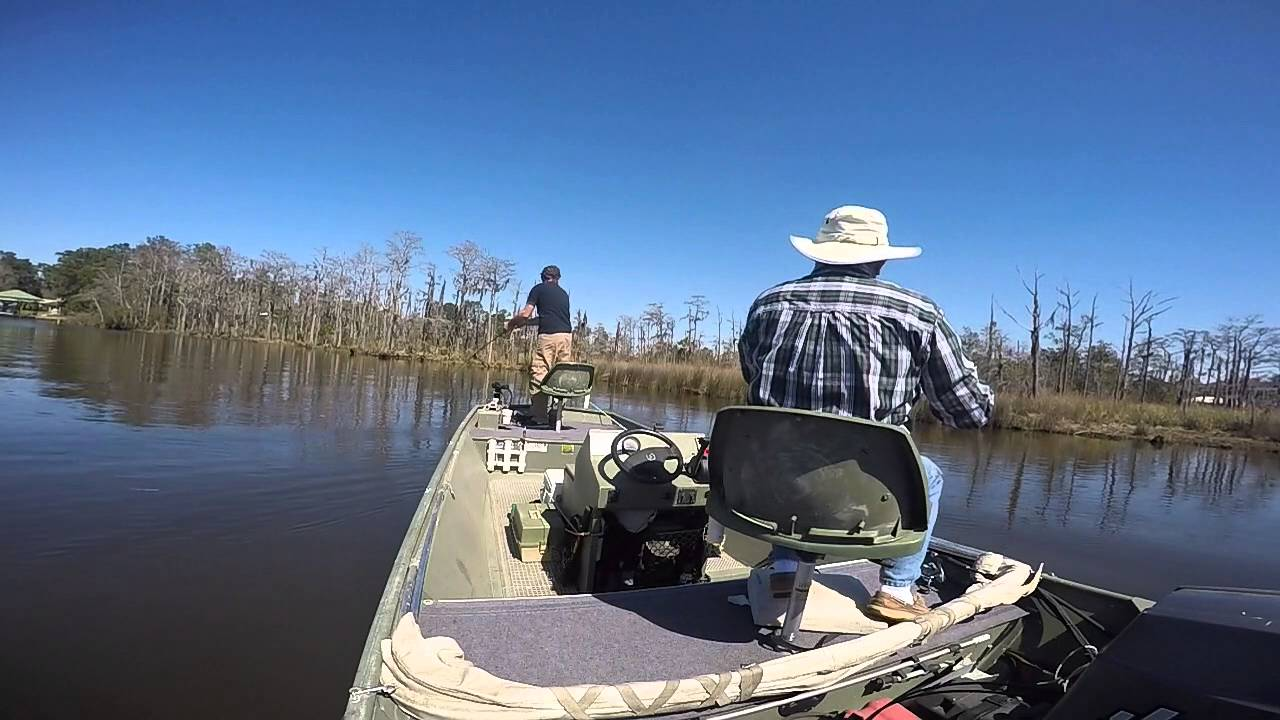 Bass Fishing Dog River Mobile Al Youtube