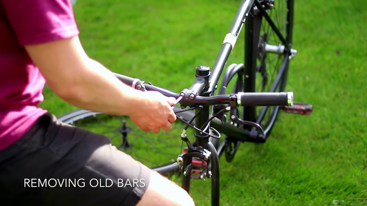 Bullhorn Handlebar Conversion And Wrapping With Regular Breaks And 7  Speeds  Andrew O'Riordan 03:04 HD