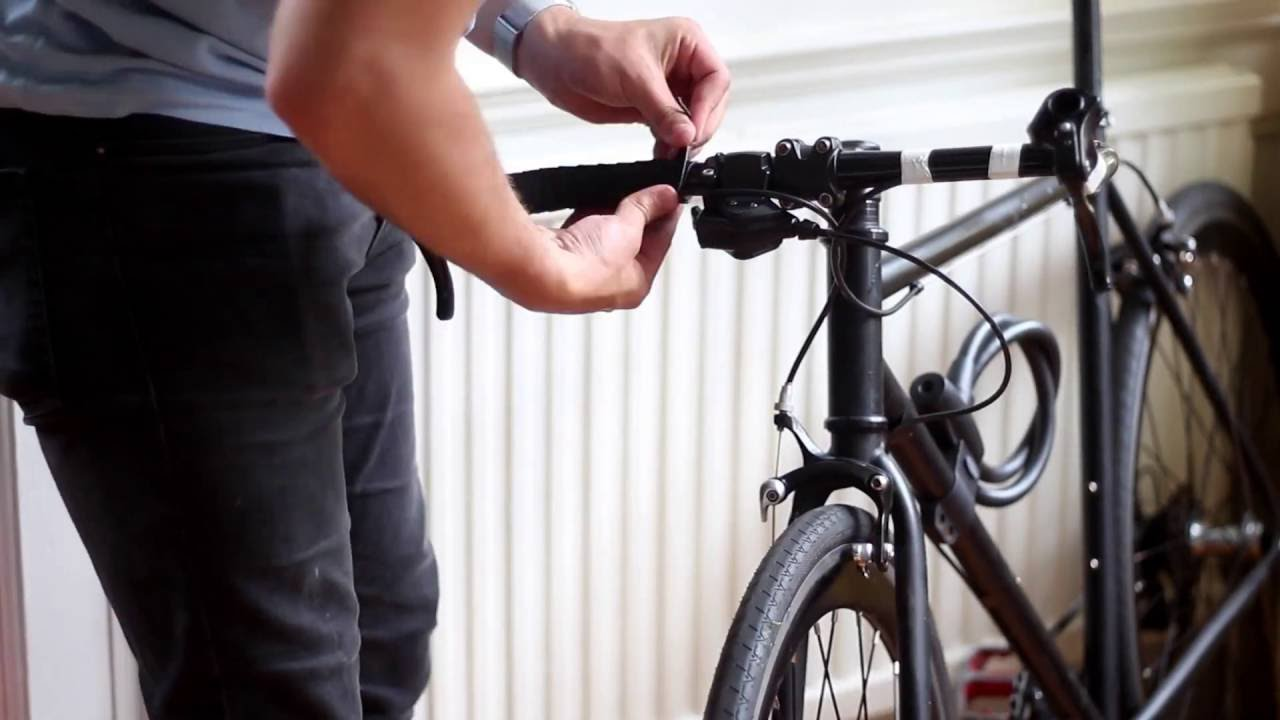Bullhorn Handlebar Conversion And Wrapping With Regular
