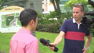 VOA Report on Singapore   June 2018