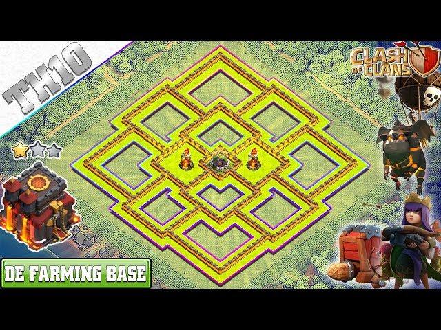 NEW TH10 FARMING BASE (DARK ELIXIR) | CoC Town Hall 10 FREE SHIELD Base | Clash of Clans