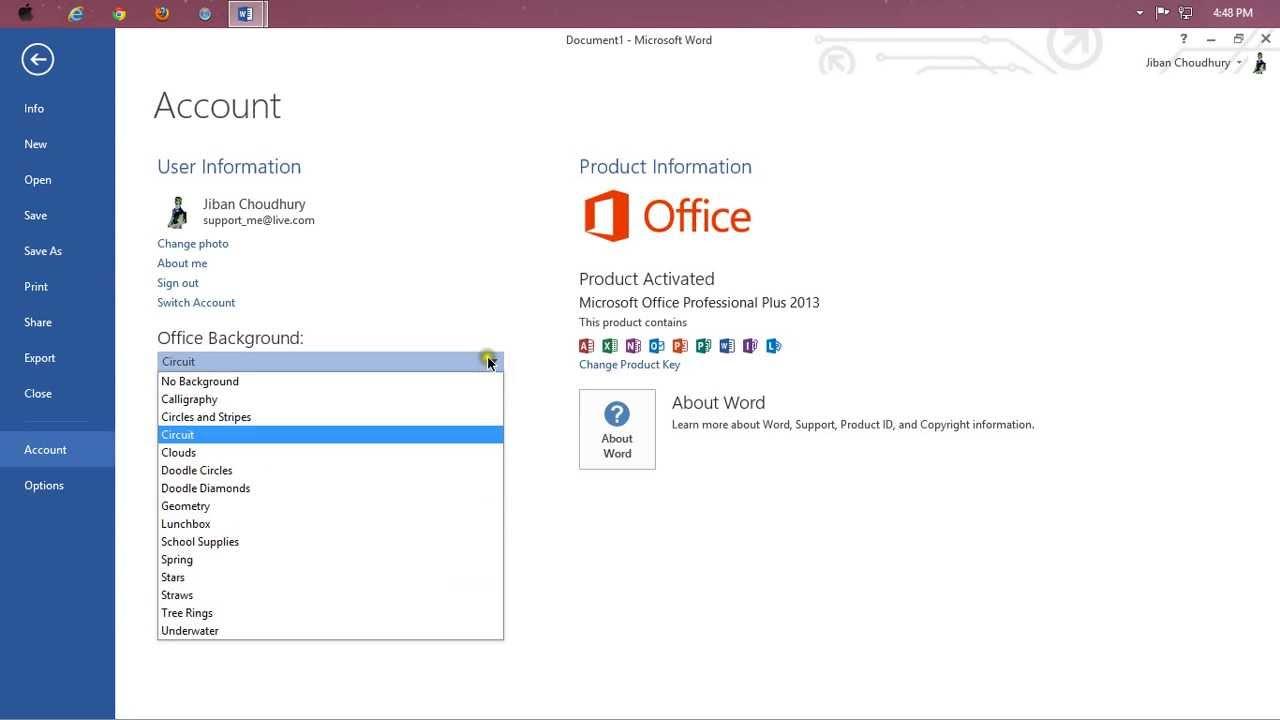 Microsoft office 2013 tutorialbangla introduction part 1 youtube microsoft office 2013 tutorialbangla introduction part 1 baditri Images
