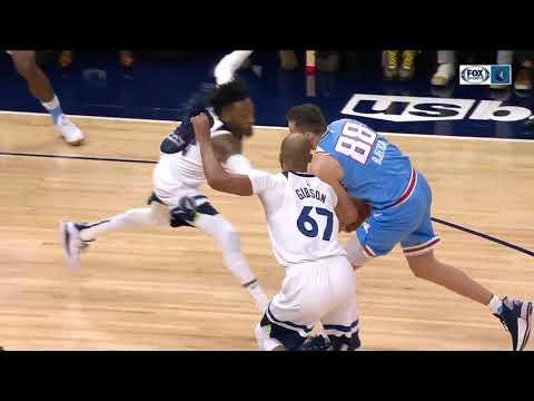 Dan Rivers - WATCH: Taj Gibson Uses Shoe To Attempt A Block