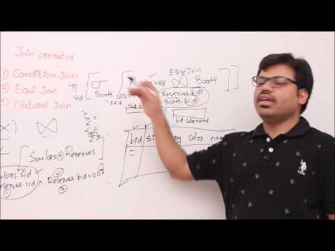 DBMS-Lesson 7-Relational algebra sets unions  part2  join operators
