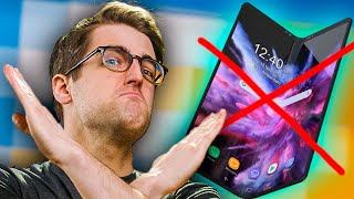 NO GALAXY FOLD FOR YOU!